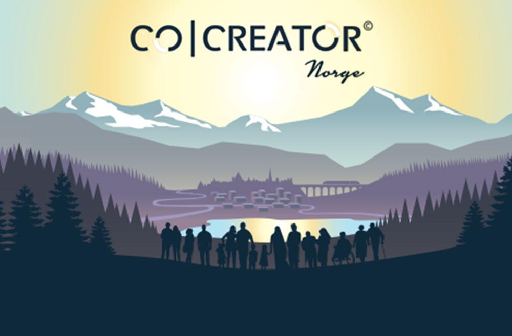 CO-CREATOR © NORGE er et læringsspill om samarbeidsdrevet innovasjon ioffentlig sektor.