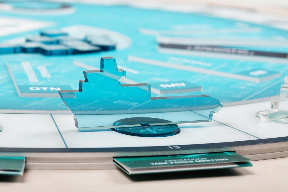 Maersk Supply Service. Skræddersyet brætspil til virksomheder.